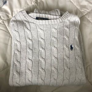 Mens Polo Ralph Lauren Cable-knit Sweater